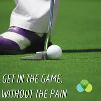 Get in the game without the pain wellness talk